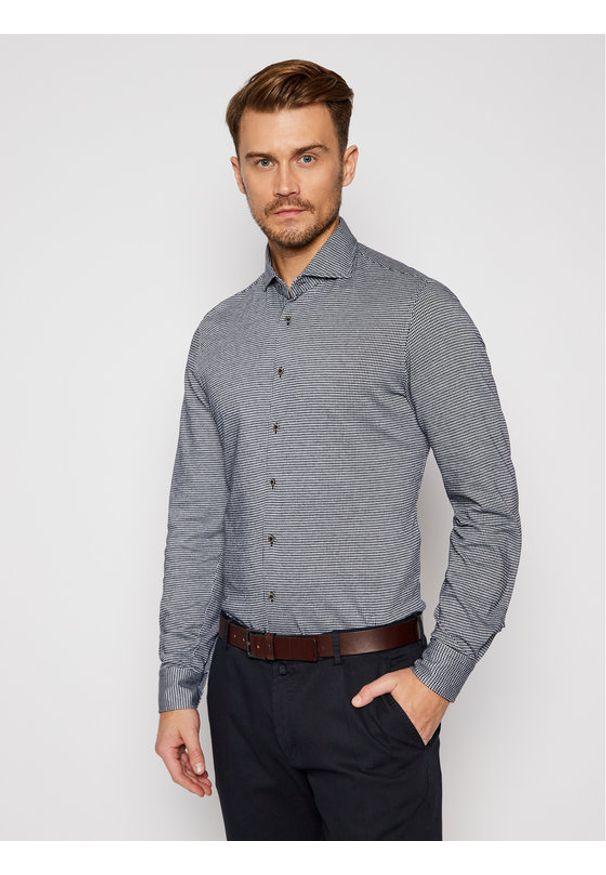 Baldessarini Koszula Henry 11000/000/0012 Czarny Regular Fit. Kolor: czarny