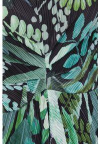 MAX&Co. - Sukienka. Kolor: zielony. Materiał: tkanina. Typ sukienki: rozkloszowane