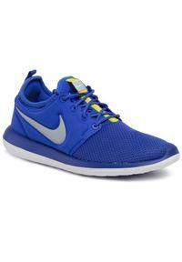 Niebieskie buty sportowe Nike Nike Roshe