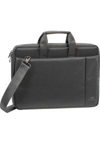 Szara torba na laptopa RIVACASE