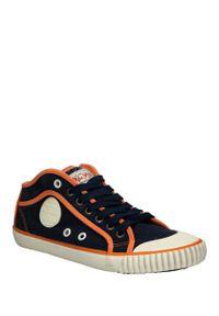 Pepe Jeans - Trampki pepe jeans pls30236/7. Kolor: pomarańczowy, niebieski, wielokolorowy