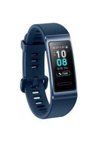 Niebieski zegarek HUAWEI elegancki, cyfrowy