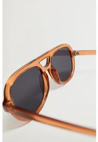 Okulary przeciwsłoneczne mango gładkie