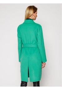 Zielony płaszcz przejściowy Patrizia Pepe