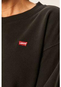 Levi's® - Levi's - Bluza. Okazja: na co dzień, na spotkanie biznesowe. Kolor: czarny. Długość rękawa: długi rękaw. Długość: długie. Wzór: aplikacja. Styl: casual, biznesowy