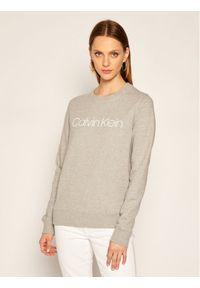 Calvin Klein Bluza Ls Core Logo K20K202157 Szary Regular Fit. Kolor: szary