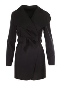 Czarny płaszcz Born2be