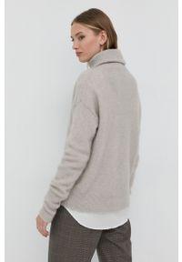 TIGER OF SWEDEN - Tiger Of Sweden - Sweter wełniany. Typ kołnierza: golf. Kolor: szary. Materiał: wełna. Długość rękawa: długi rękaw. Długość: długie