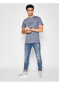 Jack&Jones PREMIUM T-Shirt Blaedgar 12187986 Szary Regular Fit. Kolor: szary