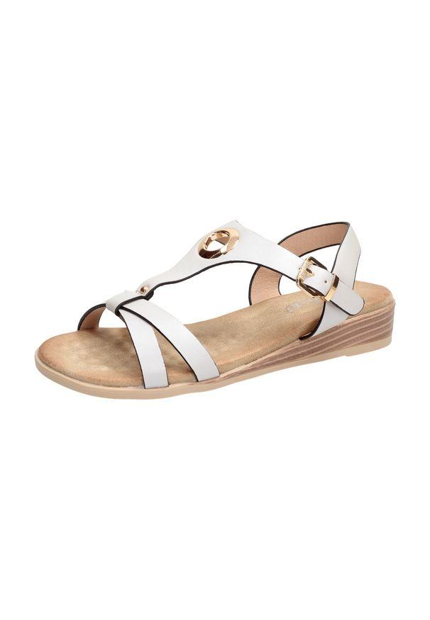 Szare sandały S.Barski klasyczne