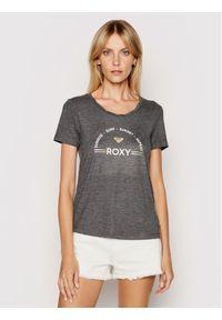 Roxy T-Shirt Chasing The Swell ERJZT05138 Szary Regular Fit. Kolor: szary