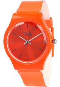 Pomarańczowy zegarek Knock Nocky