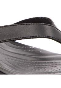 Crocs Japonki Capri V Flip W 202502 Czarny. Kolor: czarny