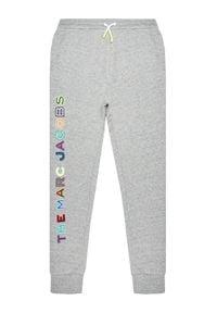 Little Marc Jacobs Spodnie dresowe W24230 D Szary Regular Fit. Kolor: szary. Materiał: dresówka