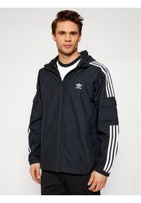 Adidas - adidas Wiatrówka adicolor Classics 3-Stripes GN3475 Czarny Regular Fit. Kolor: czarny