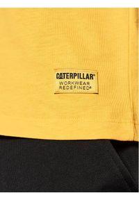 CATerpillar T-Shirt 2511242 Żółty Regular Fit. Kolor: żółty #3