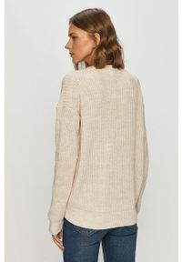Sweter GAP z okrągłym kołnierzem, z długim rękawem, casualowy, na co dzień