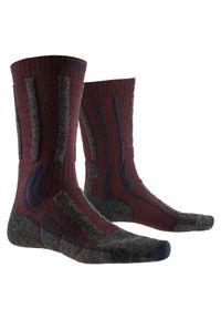 Skarpety trekingowe X-Socks Trek X Merino LT XSTS03. Materiał: wełna, poliamid, elastan. Sport: turystyka piesza