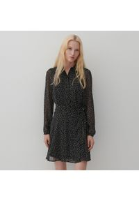 Reserved - Sukienka w groszki - Wielobarwny. Wzór: grochy