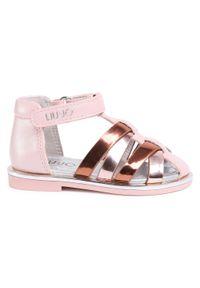 Różowe sandały Liu Jo