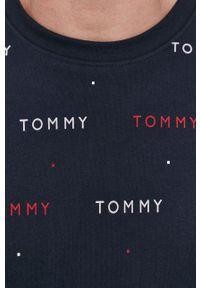 TOMMY HILFIGER - Tommy Hilfiger - T-shirt. Okazja: na co dzień. Kolor: niebieski. Materiał: dzianina. Styl: casual