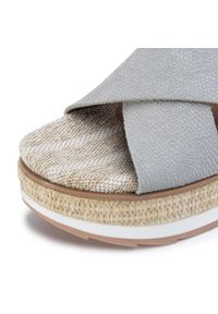 Niebieskie sandały Gioseppo na co dzień, casualowe