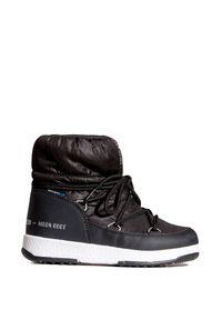 Moon Boot - Buty MOON BOOT JR GIRL LOW NYLON. Materiał: nylon. Szerokość cholewki: normalna. Sezon: zima. Styl: sportowy