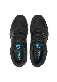 Czarne buty do tenisa Head