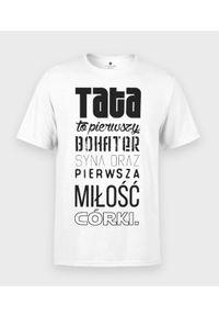 MegaKoszulki - Koszulka męska na dzień taty - Tata to. Materiał: bawełna