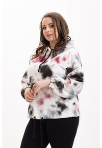 Bluza Moda Size Plus Iwanek do pracy, krótka, casualowa