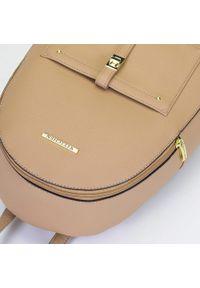 Beżowy plecak Wittchen elegancki, z aplikacjami