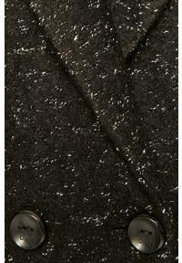 Czarny płaszcz only na co dzień, klasyczny