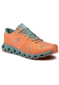 Pomarańczowe buty treningowe On