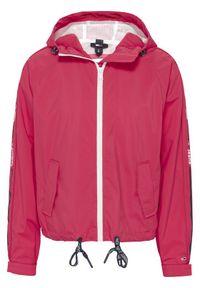 Różowa kurtka przejściowa Tommy Jeans