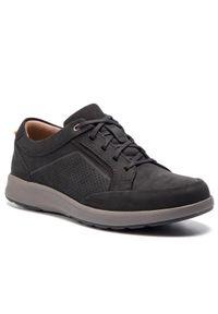 Czarne sneakersy Clarks