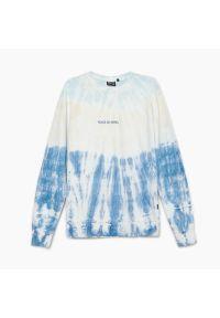 Cropp - Bluza z efektem tie dye - Niebieski. Kolor: niebieski