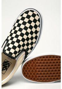 Vans - Tenisówki. Nosek buta: okrągły. Kolor: biały. Materiał: guma