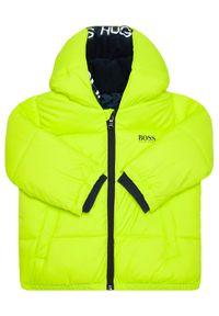 Zielona kurtka puchowa BOSS