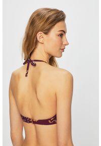 Fioletowy strój kąpielowy dwuczęściowy Etam