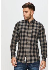 Szara koszula PRODUKT by Jack & Jones długa, button down