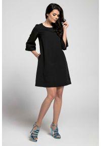 Czarna sukienka Nommo wizytowa