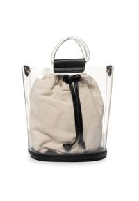 Beżowa torebka klasyczna Nobo klasyczna
