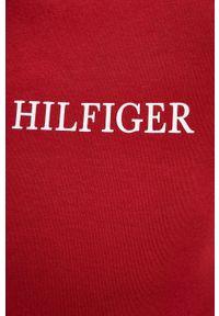 TOMMY HILFIGER - Tommy Hilfiger - Bluza. Okazja: na co dzień. Kolor: czerwony. Styl: casual