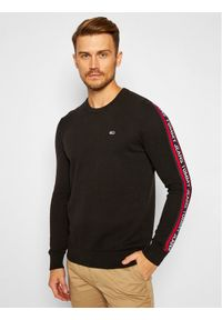 Czarny sweter klasyczny Tommy Jeans