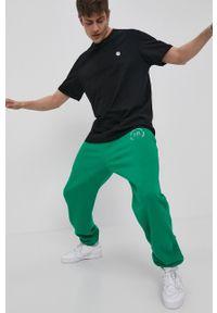Local Heroes - Spodnie. Okazja: na co dzień. Kolor: zielony. Styl: casual