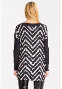 Sweter TwinSet z długim rękawem, krótki, na spacer