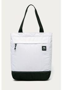 Biała torba Vans gładkie, casualowa