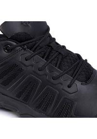 Czarne buty trekkingowe Bates z cholewką