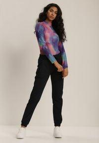 Renee - Granatowe Spodnie Dresowe Dhysorin. Kolor: niebieski. Materiał: dresówka