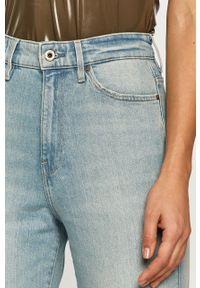 Niebieskie jeansy G-Star RAW casualowe, na co dzień